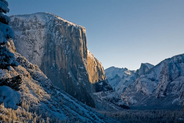 El Capitan, Winter Morning